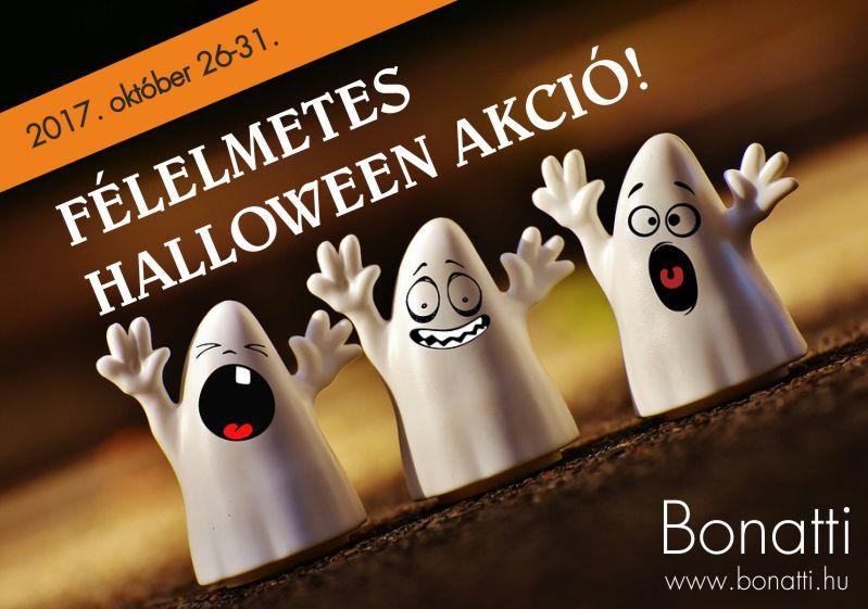 Félelmetes akció - Halloween címlap