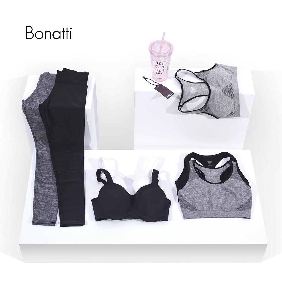 A Bonattinál megtalálhatja az Ön számára ideális fehérneműt sportoláshoz.
