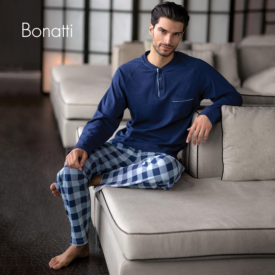 74c5bc2fa11b 2018 őszi téli férfi fehérnemű-kollekció pizsama - Bonatti női ...
