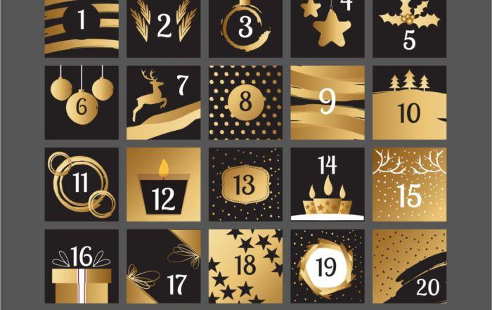 A különleges adventi fehérnemű kalendárium ajánlata december 1-jén kezdődik és december 24-éig tart.