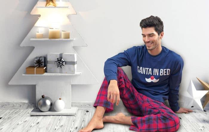 Miért jó ajándék a fehérnemű karácsonyra? Limitált szériás férfi pizsama