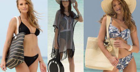Egy divatos strandtáska sem hiányozhat a nyaralási kellékek közül.