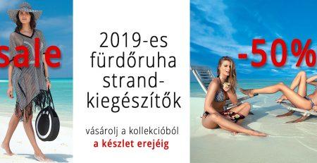 2019-es női strand és fürdőruha 50%-os kedvezmény