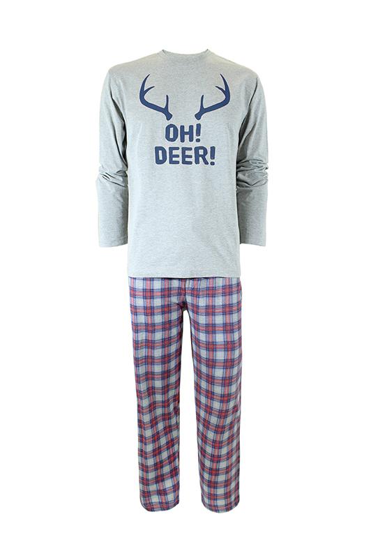 Bonatti - karácsonyi férfi pizsama - Sergio-NG20