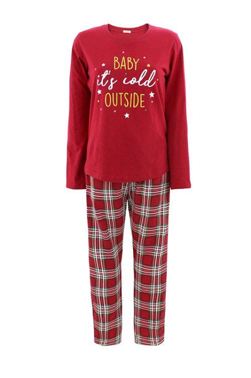 Bonatti - karácsonyi női pizsama - MIMA NG-20
