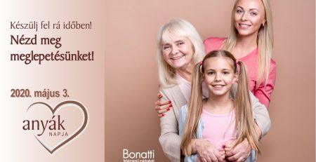 Anyák napjára Bonatti fehérnemű! Meglepetéssel!