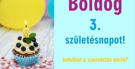 A Bonatti 3. születésnapja akciókkal